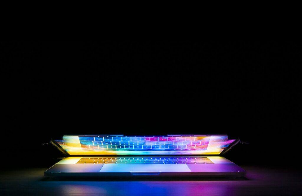 Laptop Keyboard Lights Up